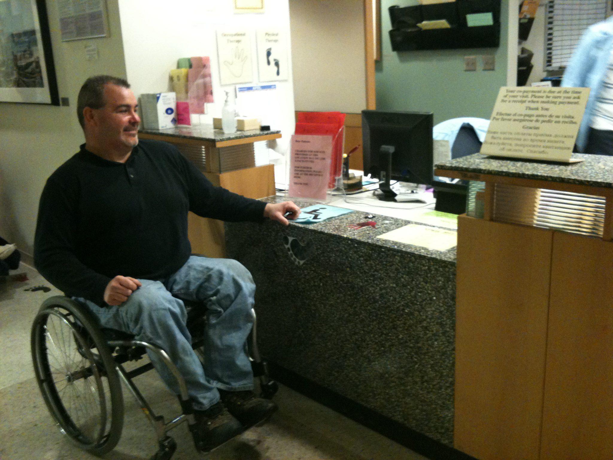 ADA compliance in healthcare setting