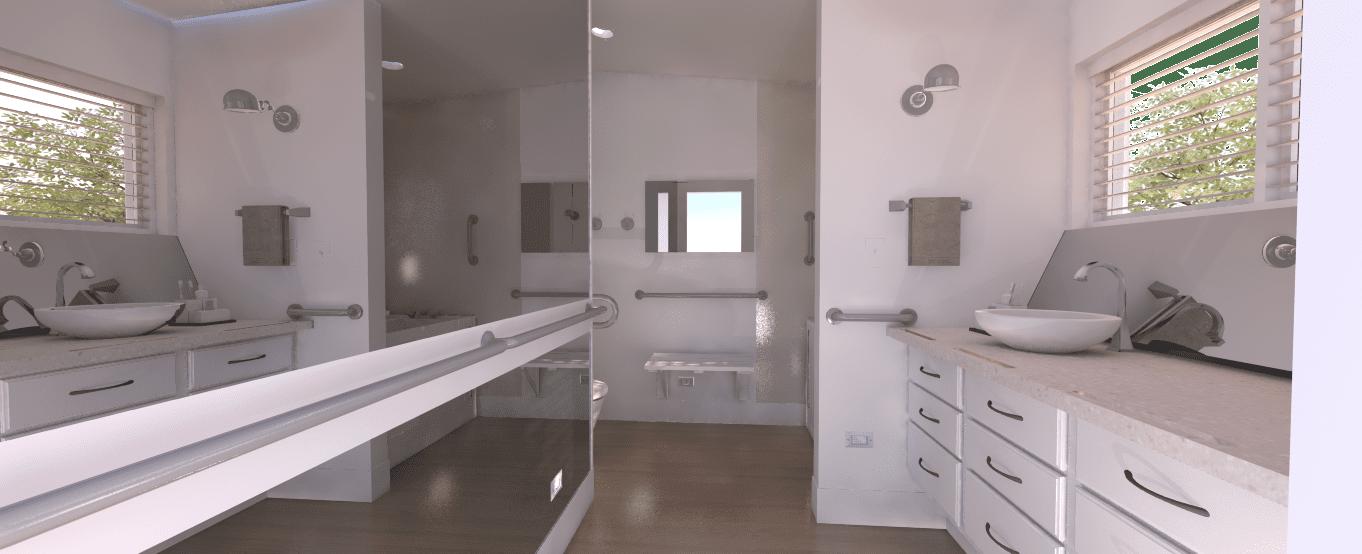 Residential Master Bath Remodel